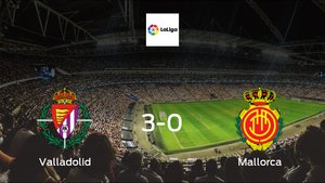 Real Valladolid score 3 in win against Mallorca with a 3-0 at José Zorrilla