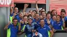 Rins celebra el podio de Argentina