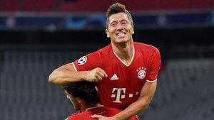 Robert Lewandowski es la estrella del Bayern de Múnich