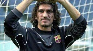 Rü¿tü Reçber jugó un año para el Barcelona