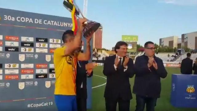 El Sant Andreu se alza campeón de la Copa Catalunya