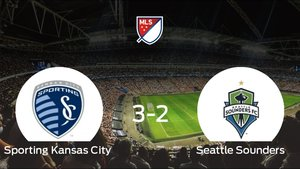 El Seattle Sounders pierde frente al Sporting Kansas City por 3-2