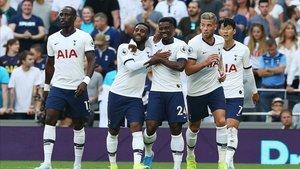 El Tottenham viene de golear al Crystal Palace en Premier