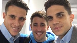 Tres exblaugrana juntos de nuevo en Vitoria