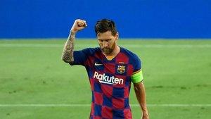 El VAR anula el segundo gol de Messi (EN)