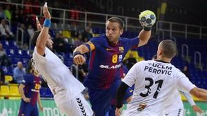 Víctor Tomás regresó al equipo con un sensacional partido