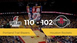 Victoria de Portland Trail Blazers ante Houston Rockets por 110-102
