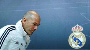 Zidane analizó la situación del Madrid