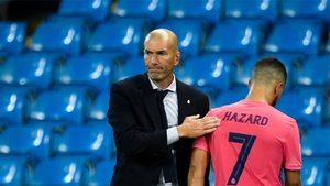 Zidane está teniendo mucho cuidado con Hazard