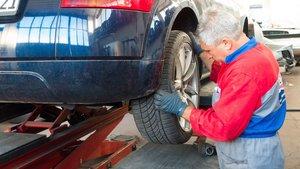 Reparación de vehículo.
