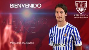 Alejandro Sanz, nuevo jugador del Numacia para la temporada 18/19
