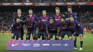 La alineación del Barça que se ha enfrentado a la Real Sociedad