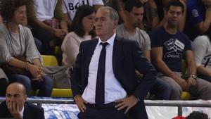 A Andreu Plaza no le gustó la pésima segunda parte de su equipo