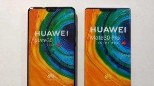 El aspecto de la serie Huawei Mate 30