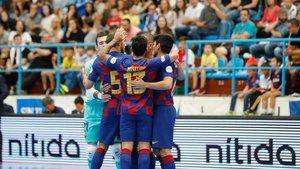 El Barça celebró otra victoria