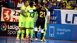 El Barça se impuso 2-6 en Zaragoza