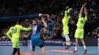 El Barça se impuso al Montpellier en un buen esfuerzo defensivo