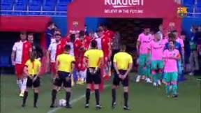 El Barça vence al Girona en el segundo amistoso de la pretemporada