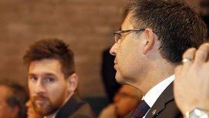 Bartomeu, dispuesto a dar un paso al lado para que siga Messi