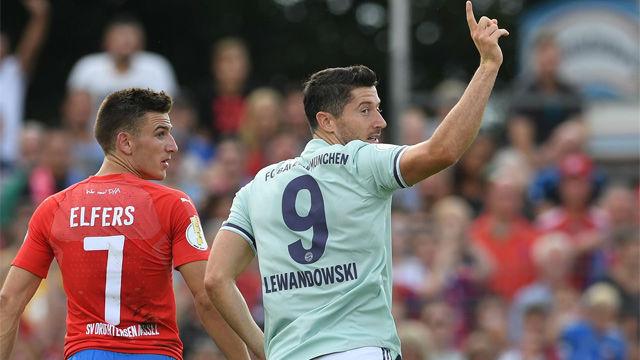 El Bayern gana por la mínima al Drochtersen Assel en la Copa alemana