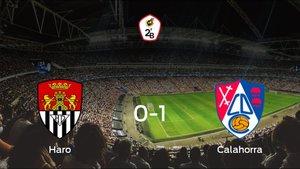 El Calahorra vence 0-1 en casa del Haro Deportivo