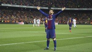 El capitán del Barça es el azote del Real Madrid desde que debutara en el partido de la máxima y, como siempre, se postula para anotar el gol 400 del Barça en la historia de los clásicos