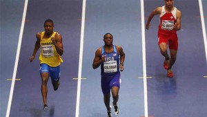 Coleman fue el más rápido en las series de 60 metros
