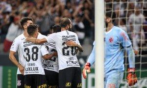 Corinthians llegó a 43 puntos en el Brasileirao