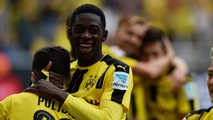 Dembélé llegó al Borussia Dortmund desde el Rennes por 15 millones de euros