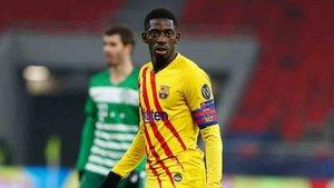 Dembélé negocia una mejora de su contrato