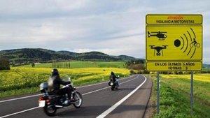 La DGT enseña como serán las nuevas señales de tráfico para motos