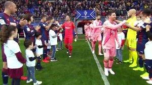 El Eibar le hizo el pasillo al Barça