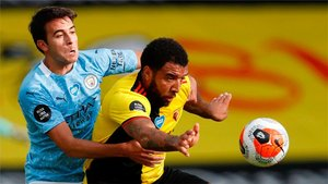 Eric Garcia, pendiente de las negociaciones Barça-City