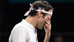 Federer se lamenta