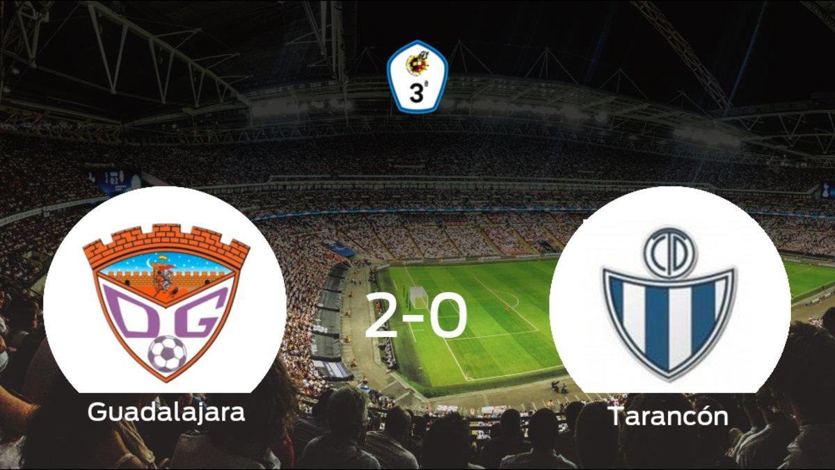 El Guadalajara vence 2-0 frente al Tarancón