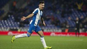 Hernán Pérez dejará de ser jugador del Epsanyol en un breve lapso de tiempo.