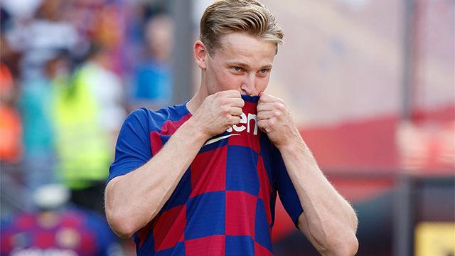 ¡ILUSIONANTE! Así ha sido la presentación de De Jong como jugador del FC Barcelona