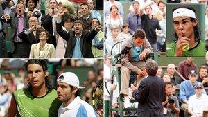 Imágenes del 29 de mayo del año 2000 en Roland Garros