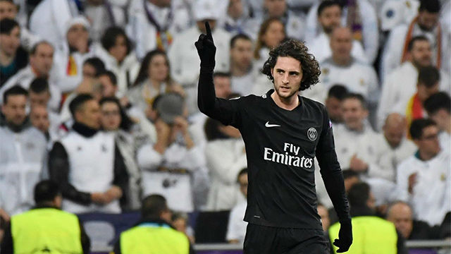LACHAMPIONS | Real Madrid - PSG (3-1): Rabiot adelantó al PSG en el Bernabéu