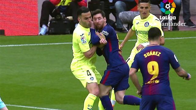 LALIGA | FC Barcelona - Getafe (0-0): El Barça reclamó penalti en un choque de Messi