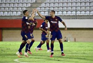 Las imágenes del Barça B - Badajoz
