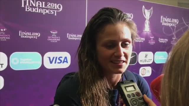 Las reacciones del Barça femenino tras la final