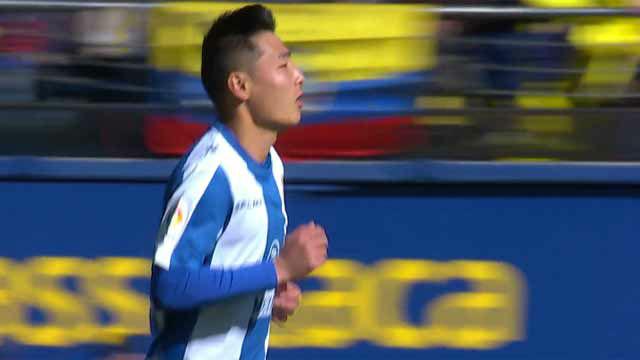 Wu Lei debutó con el Espanyol