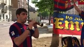 Los aficionados del Barcelona apoyarán al Barça en Turín