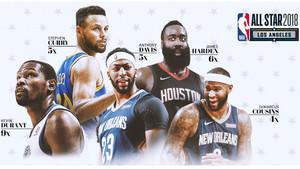 Los cinco jugadores más votados del Oeste