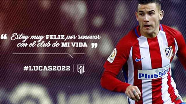 Lucas Hernández renueva hasta 2022