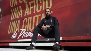 Machín confía en que su equipo de la sorpresa en el Camp Nou