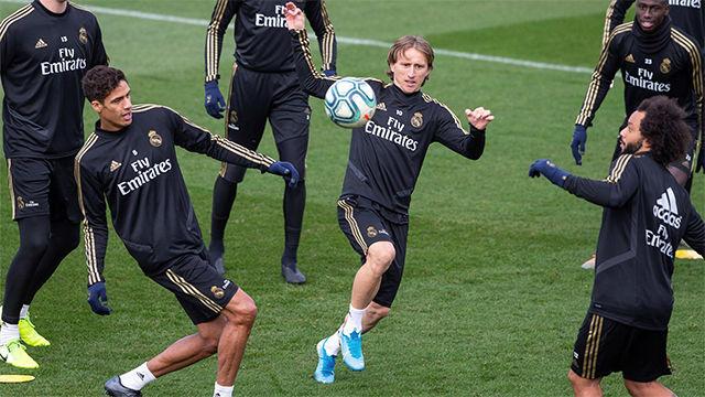 El Madrid se prepara para el Alavés