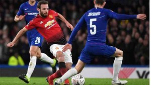 Mata hizo un buen trabajo ante el Chelsea