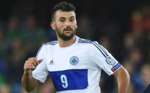 Mattia Stefanelli, autor del gol de San Marino contra Noruega